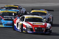 #36 United Autosports Audi R8 GT3: Enzo Potolicchio, Alex Popow, Ryan Dalziel