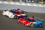 #2 Starworks Motorsport Ford Riley: Ryan Hunter-Reay, Scott Mayer, Miguel Potolicchio, Michael Valiante, Enzo Potolicchio, Marco Andretti, #02 Chip Ganassi Racing with Felix Sabates BMW Riley: Scott Dixon, Dario Franchitti, Jamie McMurray, Juan Pablo Mont