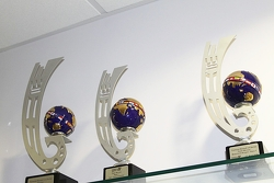 World Series Renault trophies