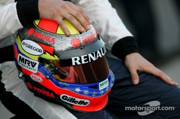 Helmet of Pastor Maldonado, Williams F1 Team