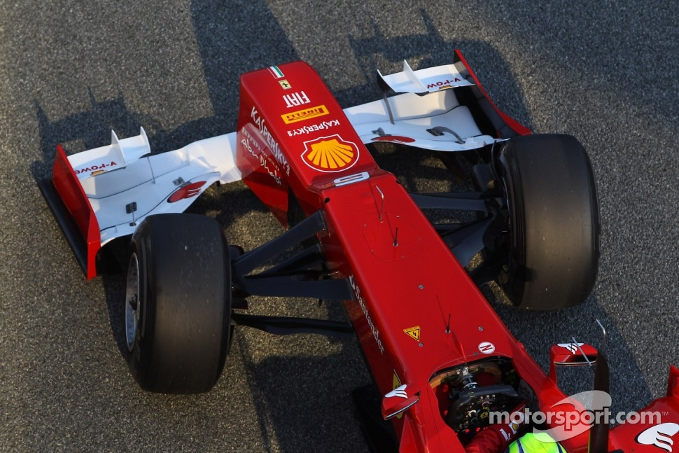Felipe Massa, Scuderia Ferrari front wing