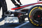 Jenson Button, McLaren Mercedes front wing
