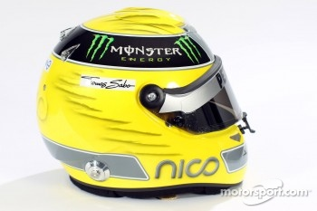 Nico Rosberg, Mercedes GP helmet