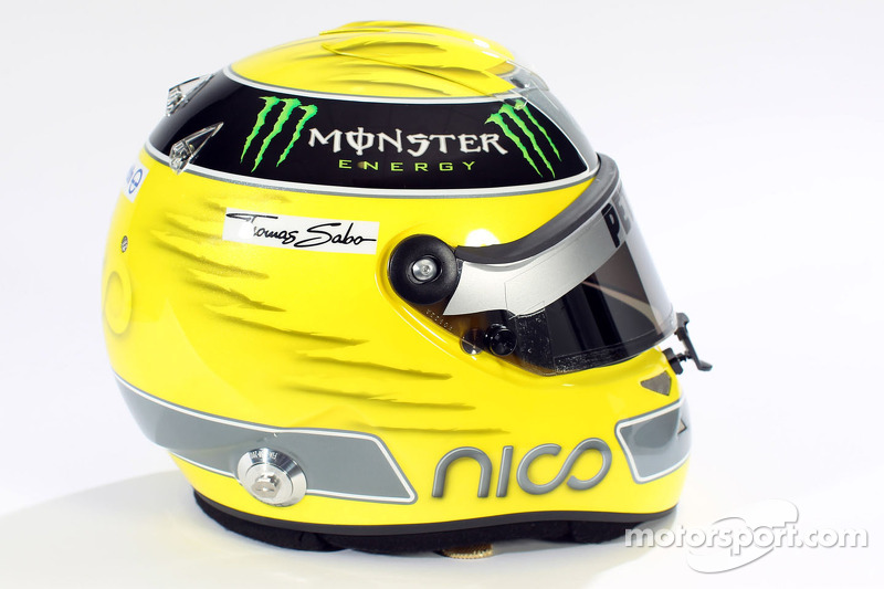 Nico Rosberg, Mercedes GP helmet