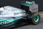 Engine cover and rear wing