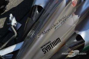 Mercedes exhaust