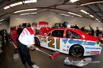 Car of Trevor Bayne, Wood Brothers Racing Ford
