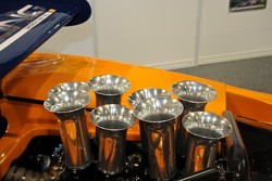 Can-Am intake trumpets
