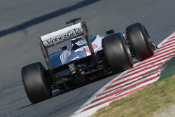 Bruno Senna, Williams F1 Team rear wing