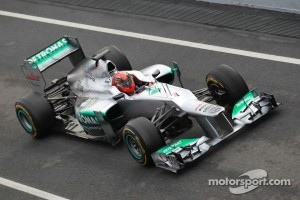 Michael Schumacher, Mercedes AMG Petronas