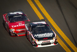 Kurt Busch, Phoenix Racing Chevrolet and Dale Earnhardt Jr., JR Motorsports Chevrolet