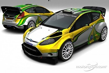 The Ford Fiesta WRC of Daniel Oliveira