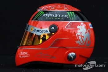 Michael Schumacher, Mercedes GP helmet