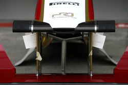 HRT Formula One Team front wing