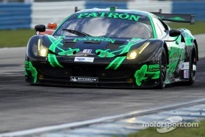 #01 Extreme Speed Motorsports Ferrari F458 Italia: Scott Sharp, Johannes van Overbeek, Guy Cosmo