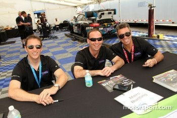 Spencer Pumpelly, Emilio Di Guida, Marc Bunting