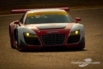 #20 Hitotsuyama Racing Audi R8 LMS: Michael Kim, Frank Yu, Ken Kobayashi