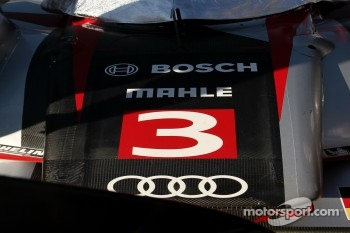 #3 Audi Sport Team Joest Audi R18: Timo Bernhard, Romain Dumas, Loic Duval