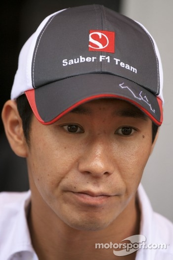 Kamui Kobayashi, Sauber Ferrari