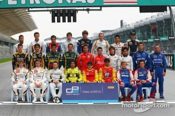 GP2 drivers photoshoot