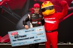 Pole winner Will Power, Verizon Team Penske Chevrolet