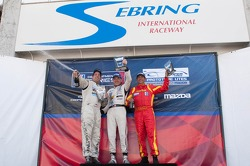 Race #1 L2 Class Podium: Scott Tucker, Alain Nadal, Alan Wilzig