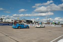 #66 Kelly Moss Motorsports Porsche GT3 Cup: Rob Walton