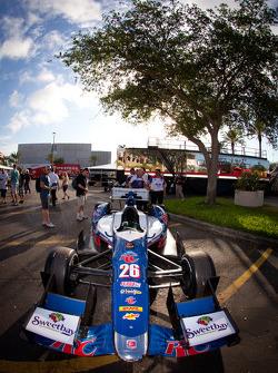 Car of Marco Andretti, Andretti Autosport Chevrolet