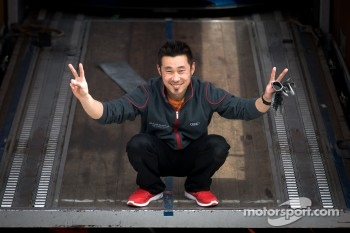 #21 Hitotsuyama Racing Audi R8 LMS chief mechanic Kyoungmo Kim