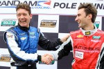 DP pole winner Richard Westbrook and GT pole winner Paul Edwards