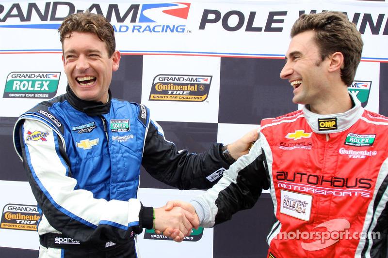 DP pole winner Richard Westbrook and GT pole winner Paul Edwards