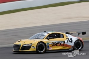 #74 Oryx Racing Audi R8: Humaid Al Masaood, Steven Kane