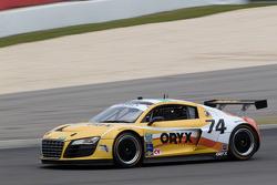 #74 Oryx Racing Audi R8: Humaid Al Masaood, Steven Kane