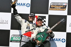 GT winners Jonathan Bomarito, Sylvain Tremblay