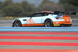 #69 Gulf Racing Aston Martin Vantage: Roald Goethe, Stuart Hall