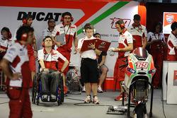 Ducati Team pitbox