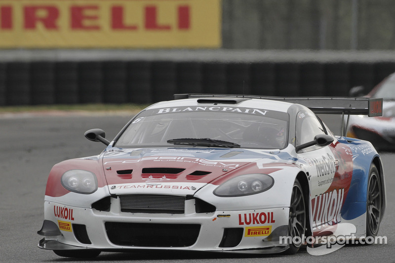 #6 Valmon Racing Team Russia Aston Martin DBRS9: Andreas Zuber, Sergey Afanasyev