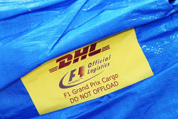 DHL logistics package