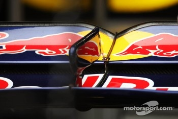 Red Bull Racing rear wing detail