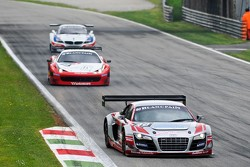 #40 Sainteloc Racing Audi R8 LMS ultra:  Gregory Guilvert, David Halliday, Jerome Demay