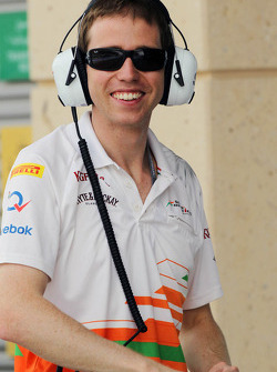 Will Hings, Sahara Force India F1 Press Officer