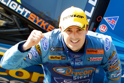 Race winner Mark Winterbottom