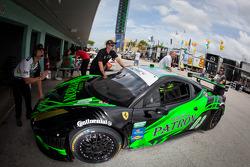 #03 Extreme Speed Motorsports Ferrari 458: Ed Brown, Guy Cosmo