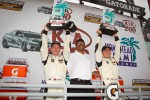 ST podium: class winners Ryan Ellis and Martin Jensen