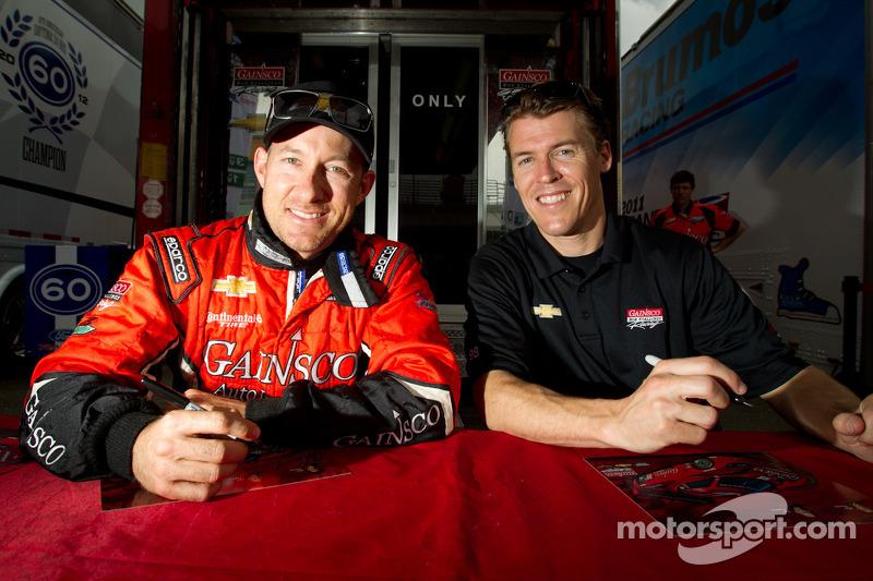 Autograph session: Jon Fogarty and Alex Gurney