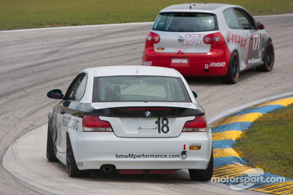 #18 Insight Racing BMW 128i: Ryan Ellis, Martin Jensen
