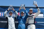 Platinum Class Podium: Madison Snow, Sean Johnston, Bryce Miller