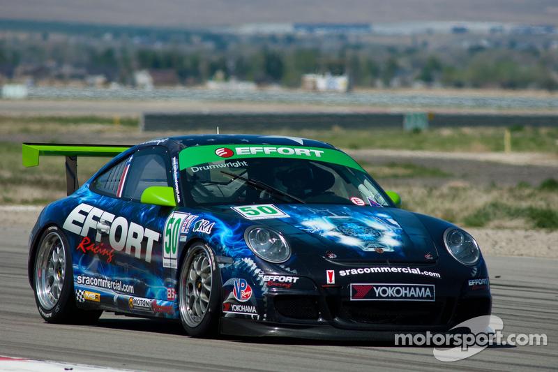 #50 Effort Racing Porsche GT3 Cup: Marc Drumwright