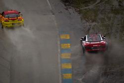 #51 APR Motorsport Audi R8 Grand-Am: Jim Norman, Dion von Moltke off the track