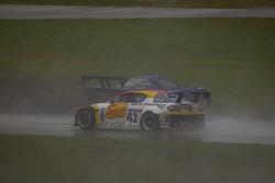 Restart: #90 Spirit of Daytona Chevrolet Corvette DP: Antonio Garcia, Richard Westbrook spins